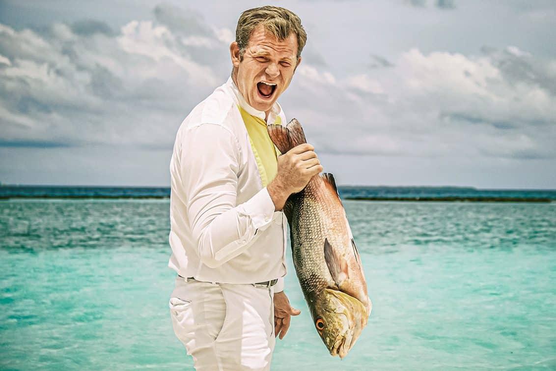 Anton-Georg Maier, F&B Manager im Cheval Blanc auf den Malediven