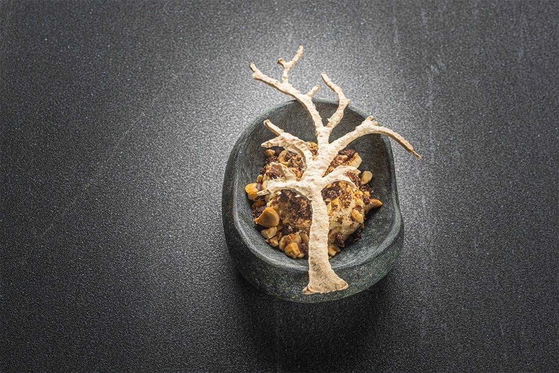 Dessert von Stefan Eder: Der Baum, die Nuss und das Salz