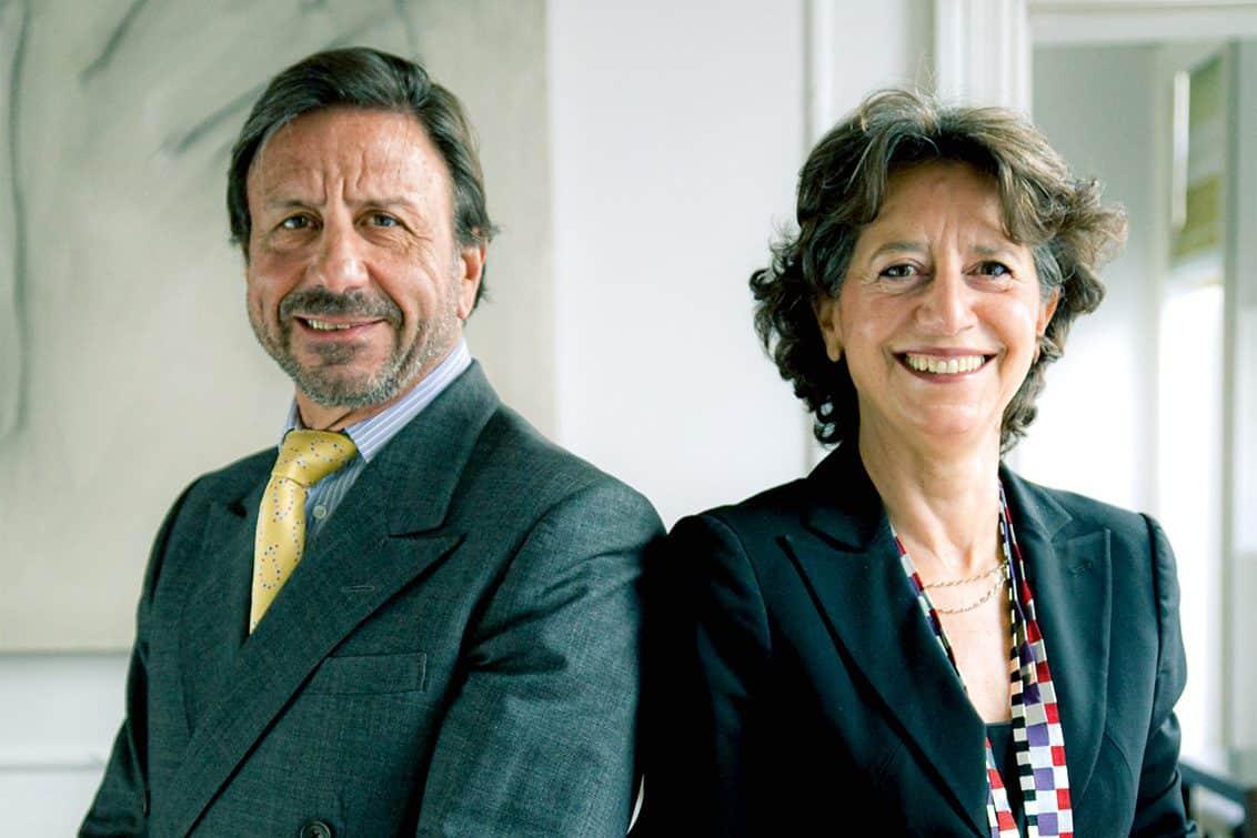 Sir Rocco Forte und seine Schwester Olga Polizzi