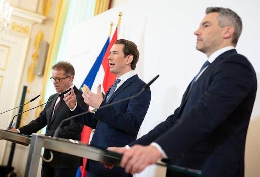 Sebastian Kurz, Österreich, Corona-Krise, Ausgangssperre