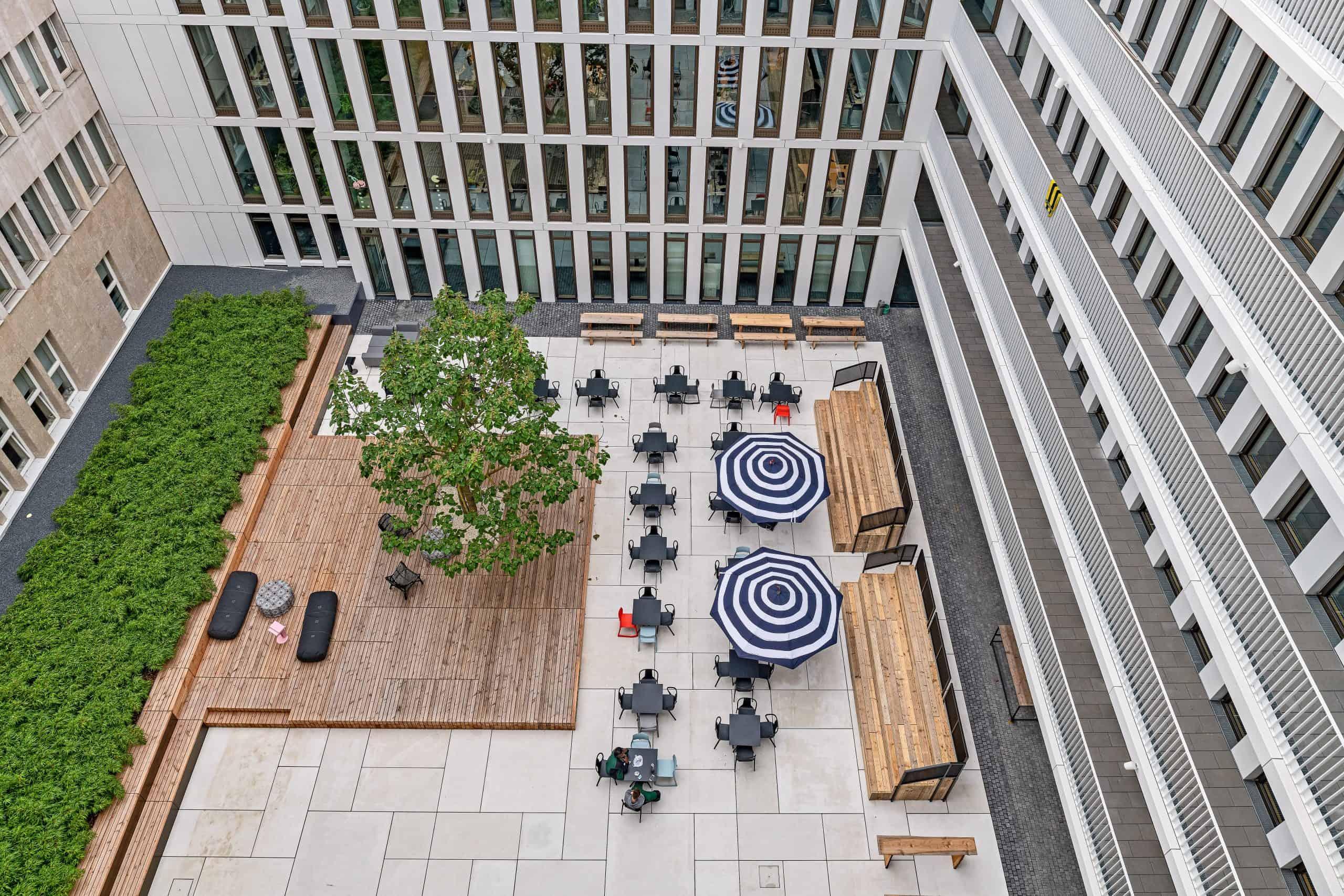 Die Design Offices bieten spannende Flächen an.